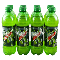 Mountain Dew 6Packs